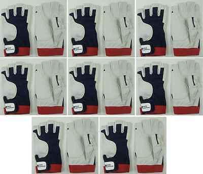 8 Paar Fahrer-Handschuhe Gr. M (8) AMARA PRO Rigginghandschuhe Roadiehandschuhe