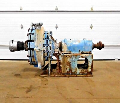Mo-2590 Goulds 5500 Severe Duty Slurry Pump. B4 Frame. 4x6-29. 770 Gpm. 340 Hd.