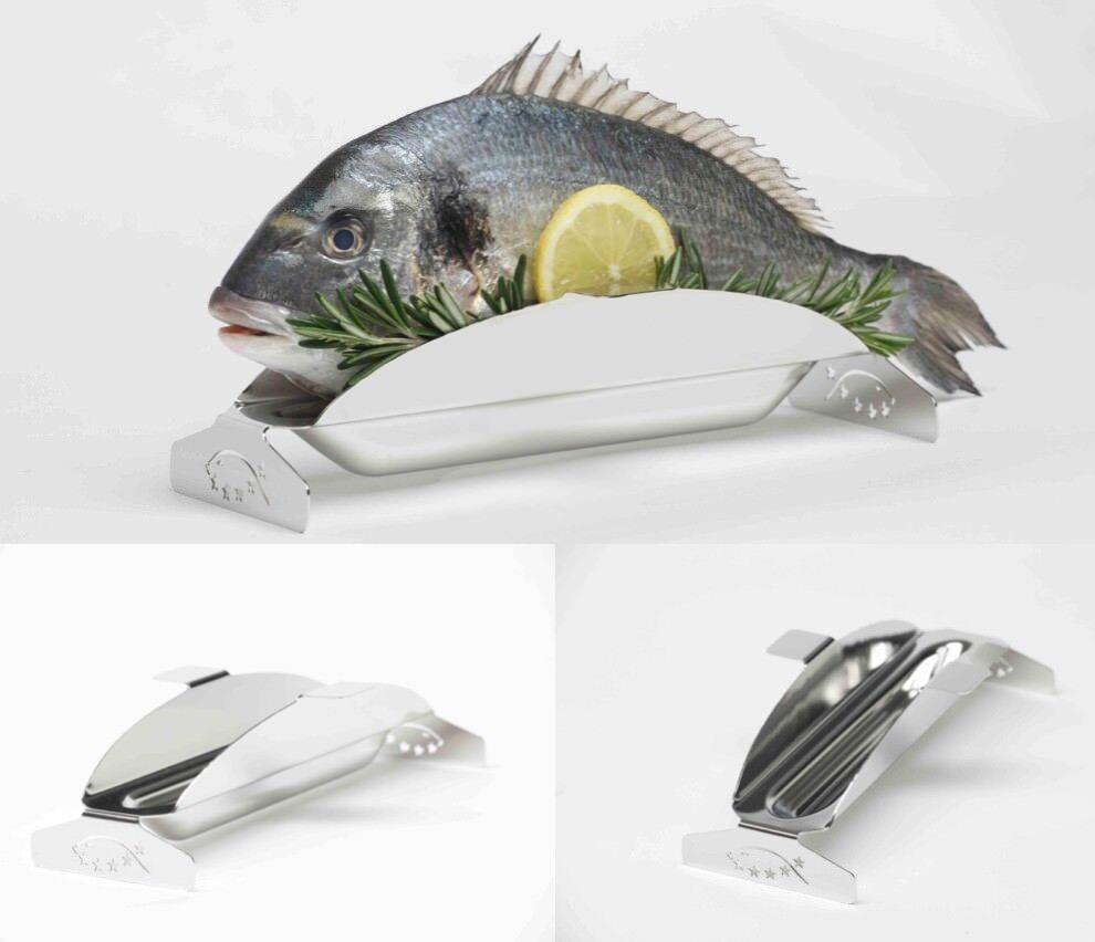 2 Fischgrillhalter, Grillgestell mit Sudwanne, Fischgrillen next Level