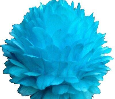 Centerpiece Feather Ball Large Wedding Ball Kissing Ball 16 inches Turquoise USA (Feather Ball Centerpieces)