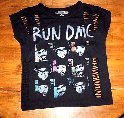 Run Dmc  Live Nation   Cut Out  T Shirt   Small
