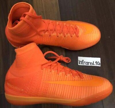 811cd0e47017 NEW Nike Mercurialx Proximo II IC MENS 9.5 INDOOR Soccer Shoes 831976-888  Orange