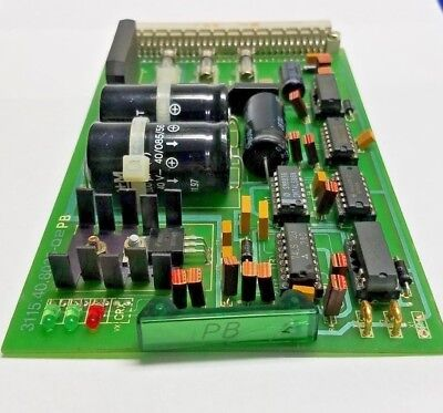 Wohlenberg 3115.40.8035-02 Pb Relay Board For Mcs 2tv