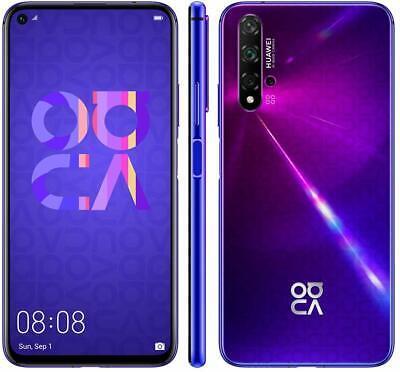 "Huawei Nova 5T Smartphone - 6.26 ""6 GB RAM 128 GB PURPLE DUAL SIM24 MONTH WARRANTY"