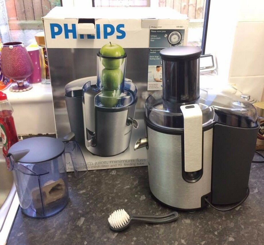 Philips Juicer and Coffee Maker