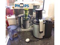 Philips Whole Fruit Juicer - Aluminium