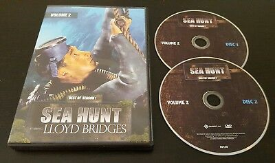 Sea Hunt: Best Of Season 1, Volume 2 (DVD) Lloyd Bridges classic tv show