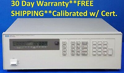 Agilent Hp 6627a W Option 750 Precision System Power Supply 50w 4 Outputs