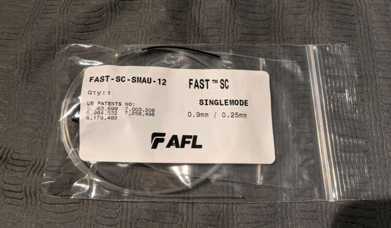 AFL FAST CONNECTOR FAST-SC-SMAU-12 SingleMode 0.9mm/0.25mm - ONE UNIT