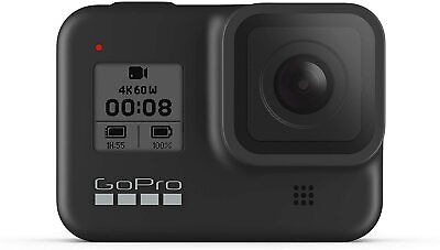 GoPro HERO8 Black Waterproof Action Camera with Touch Screen 4K Ultra HD Video