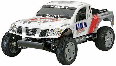 Tamiya 1:12 RC Buggy Nissan Titan Racing Bausatz 300058511