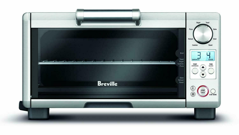BREVILLE MINI SMART OVEN BOV450XL with Element IQ NEW AUTHEN