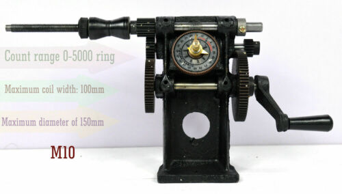Manual Hand Coil Winder Winding Counting Machine NZ-5 Wire Tool New