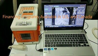 Veterinary X-ray System Portable Dr For Equine Use Panel 17x17 Detector Wired