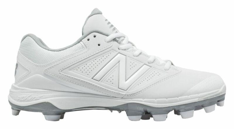 New Balance Low-Cut 4040v1 TPU Softball Cleat Womens Shoes White