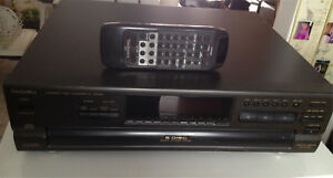 Technics 5 disk CD player with remote
