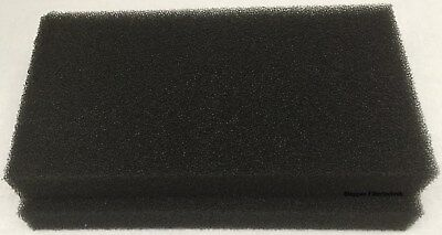 2 x Schwammfilter für Gorenje D 9866E SP-13 / 628504 Wärmepumpentrockner Filter