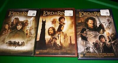 Lord Of The Rings Trilogy DVD Set 6-discs