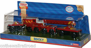 ROCKY-Thomas-Tank-Engine-CRANE-Wooden-Railway-NEW-IN-BOX