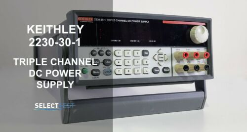 KEITHLEY 2230-30-1 PROGRAMMABLE TRIPLE OUTPUT POWER SUPPLY **LOOK** (REF: G)