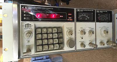 Hewlett Packard Hp 8660b Synthesized Signal Generator 86632a Modulation 86601a R