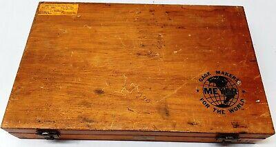 Meyer Plug Pin Gage Set M-1 .061-250 Minus