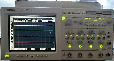 Hp Hewlett Packard 54825a Infinium Oscilloscope 500mhz 2gsas Tested