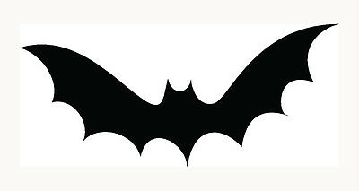 Scary Halloween Cars (Bat Sticker Halloween Scary Haunting Boo Car Window Vinyl Decal Graphic)