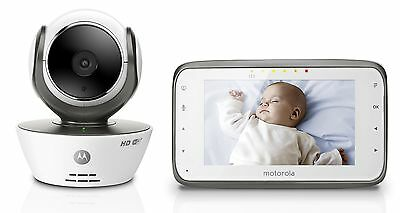 Motorola MBP854CONNECT Digital Video Baby Monitor with Wi-Fi