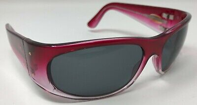 NEW Black Flys Fly No # 5 Red Pink Fade Sunglasses Grey Lens Gray Lens (Number Sunglasses)