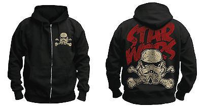 STAR WARS - Stormtrooper / Trooper Skull Hoodie - XL - NEU