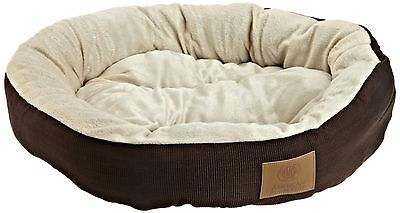 Round Pet Bed Dog Cat Pad Medium Warm Soft Mat Puppy Cushion Cozy NEW FREE SHIP