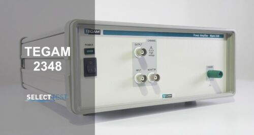 TEGAM 2348 DC to 2 MHz (HIGH CURRENT) POWER AMPLIFIER ****LOOK**** (REF.: 006G)