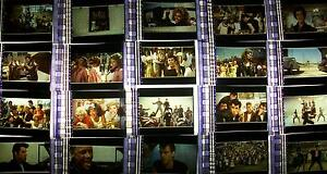 GREASE Lot of 100 Film Cells Instant Collection movie dvd memorabilia rare