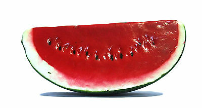 Artificial Watermelon Slice - Plastic Decorative Fruit Red Watermelons Fake