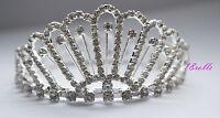 Stunning Crystal Luxury Wedding Bridal Party /pageant Prom Tiara Crown Uk 051 - 18rolls - ebay.co.uk