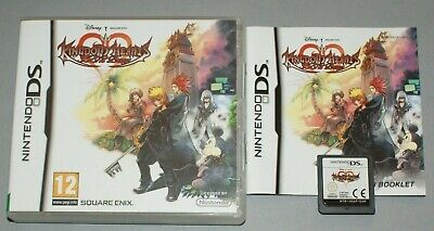 Kingdom Hearts 358/2 Days - Nintendo DS Game - with manual