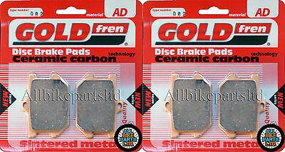 <em>YAMAHA</em> <em>XS 500</em> FRONT  REAR BRAKE PADS 1977 ONWARDS   GOLDFREN   XS500