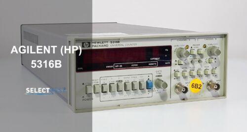 AGILENT (HP) 5316B .1 Hz to 100 MHz PROG. UNIVERSAL COUNTER **LOOK** (REF: 495G)