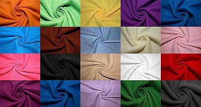 - Polar Fleece Fabric Solid 46 Color Anti-Pill 58