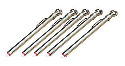 (Milton Industries 921BK Pencil Type Tire Air Pressure Gauge - 5 Pack)