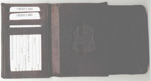 Federal Bureau of Investigation FBI Badge Cut-Out DL/CC/ID/Money Wallet