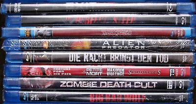 Geister In Filmen (Blu Ray 8 Stück mit 10 Filme (Horror/Action) in OVP aus Sammlung,Paket FSK 18)