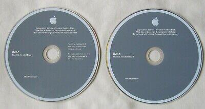 Apple iMac iMac10,1 Late-2009 OS X 10.6.1 Install Snow Leopard DVD (6588)
