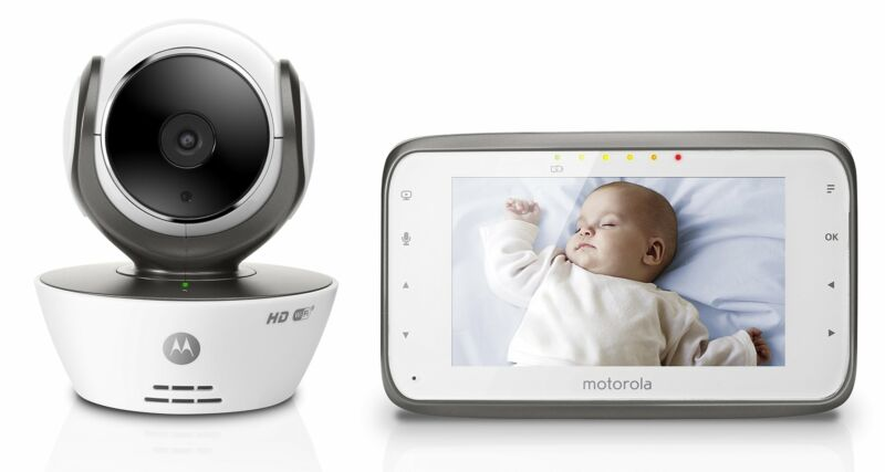 Motorola Wireless Baby Monitor White MBP854CONNECT