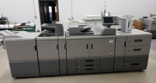 Ricoh Pro 8100s B&W Digital Press Copier - 95 ppm  - Only 741K meter clicks