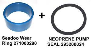 New Seadoo wear ring 271000290 + 293200024 SEAL  jetboat speedster spx hx