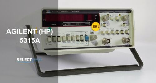 AGILENT (HP) 5315A 0.1 Hz to 100 MHz UNIVERSAL COUNTER   *LOOK* (REF: 559G)