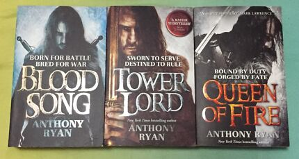 Complete Ravens Shadow Trilogy by Anthony Ryan