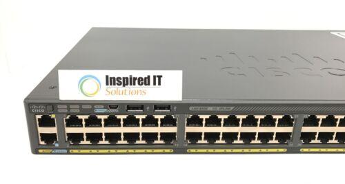 Ws-c2960x-48ts-ll - Cisco Catalyst 2960x 48 Gige, 2 X 1g Sfp, Lan Lite